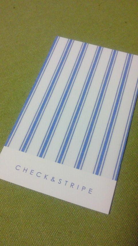 check&stripe
