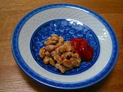 納豆+ケチャップ