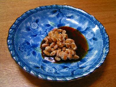 納豆+焼肉のたれ辛口