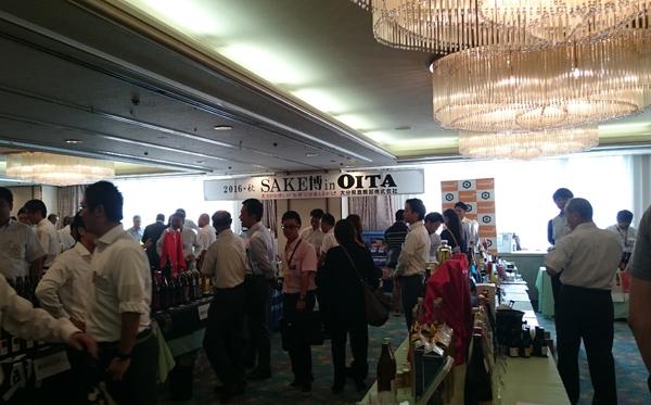 トキハ会館で行われた日本酒類販売さんの展示会 SAKE博inOITAに行ってきました。10月発売予定の「一の井手 純米大吟醸酒」「龍梅 爽 特別純米酒」に注目。