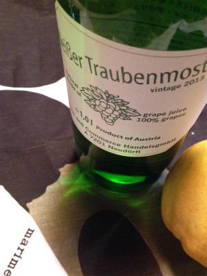 これはワイン用葡萄で作ったジュース