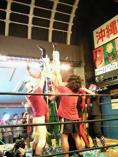 戦うお笑いのファンタジー沖縄プロレス 第六弾