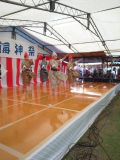 八重山商工郷土芸能部の華麗なる舞踊