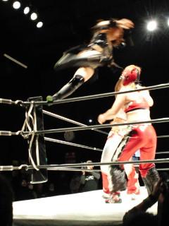 華麗なる女の戦いJWP女子プロレス