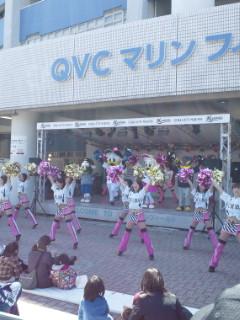 開幕前から盛り上がってのQVCマリンフィールド