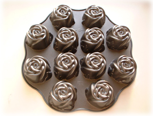 Sweet Heart Rose Cake Pan