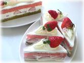ひなまつりケーキ・カット