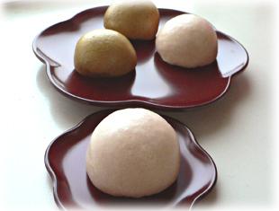 黒糖&桜饅頭�