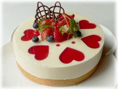 おばあちゃんの誕生日ケーキ