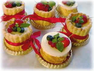 レアチーズケーキ・ミニ