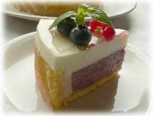 レアチーズケーキ・カット