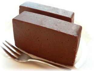 チョコレートチーズケーキ・カット