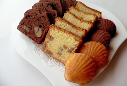 バターケーキ&マドレーヌ