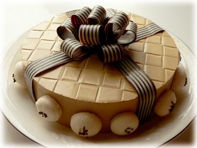お義父さんの誕生日ケーキ