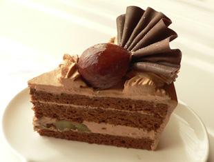 チョコレートマロンショート・カット