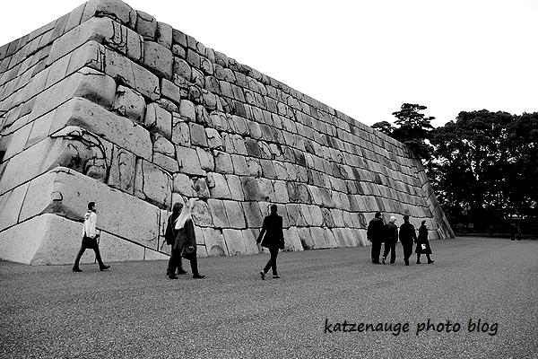 Huge stone 石垣