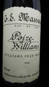 PoireWilliam洋梨のブランデー