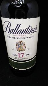 バランタイン17年/スコッチウイスキー