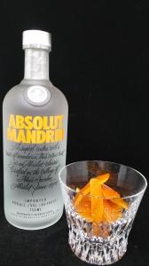 マンダリンウォッカ、オレンジピール