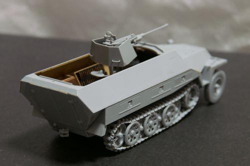 Sd.Kfz.251/17 組立完了2