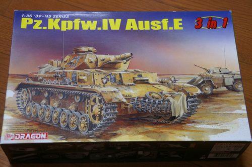 Pz.Kpfw.IV Ausf.E パッケージ