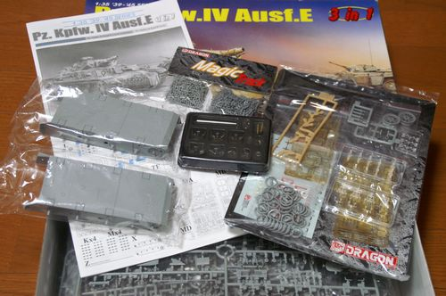 Pz.Kpfw.IV Ausf.E 内容物