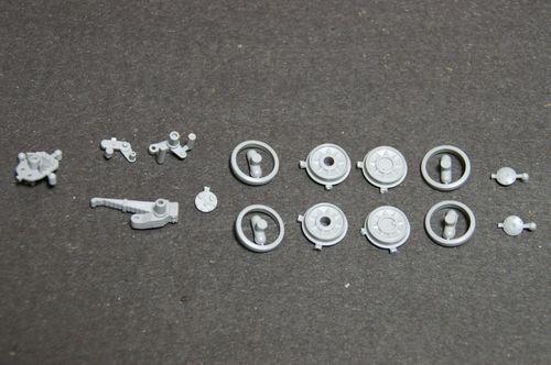 IV号E型 転輪分割