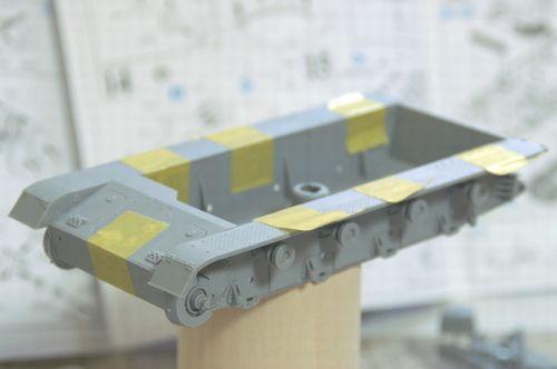 IV号E型 車体下部