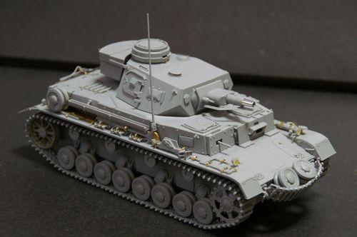 Pz.Kpfw.IV Ausf.E 組立完了1
