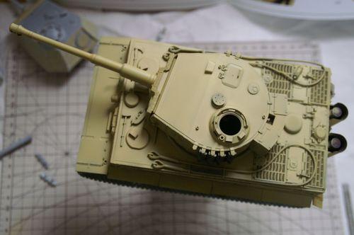 タイガーI 基本塗装1