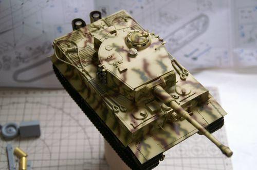 TIGER I 迷彩3−5