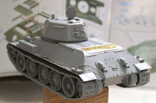 T-34/76 組立完了2