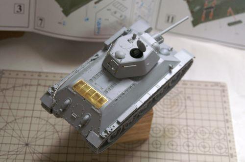 T-34/76 組立完了3