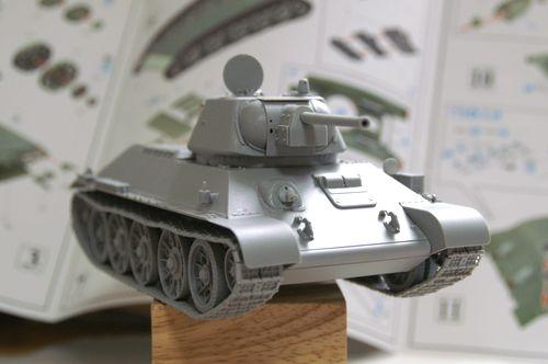 T-34/76 組立完了4