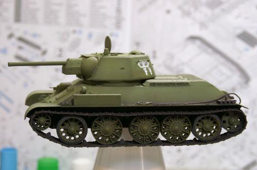 T-34/76 基本塗装1