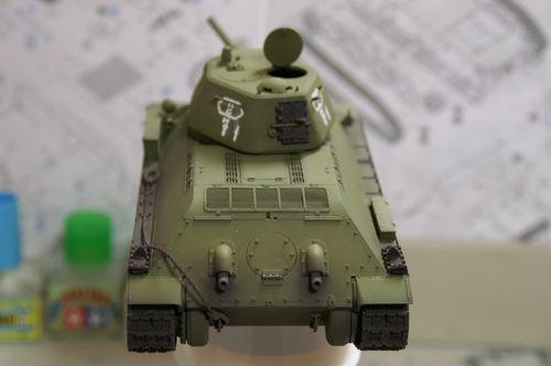 T-34/76 基本塗装2