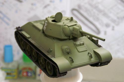 T-34/76 基本塗装3
