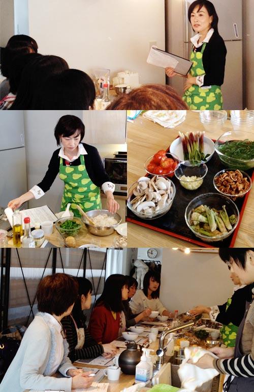 薬膳料理教室(高遠智子氏)