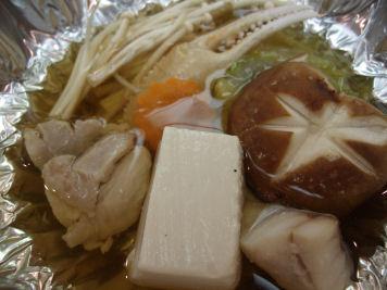 プチ鍋(鶏&カニ&白身魚)