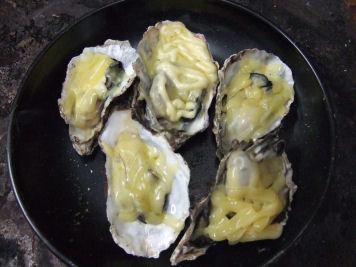 牡蠣マヨチーズ