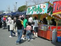 笠岡さくら祭2008「屋台村」