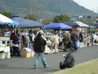 笠岡さくら祭2008「フリーマーケット」