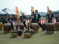 笠岡さくら祭2008「応神太鼓」