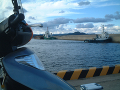 五島列島の波止場