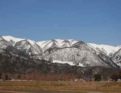 大谷山(813m)etc.への積雪