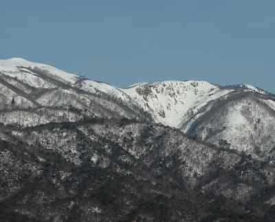 明王の禿&赤坂山(824m)の雪