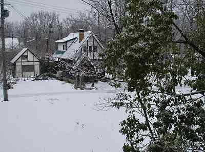 1月6日の雪