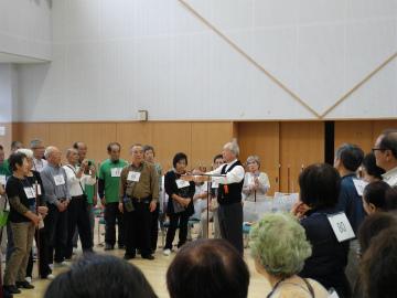 日本吹き矢連盟in東京大会 模範演技