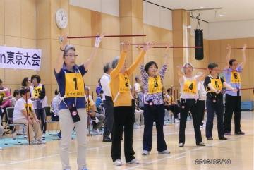 In 東京2016オープン吹き矢 その3