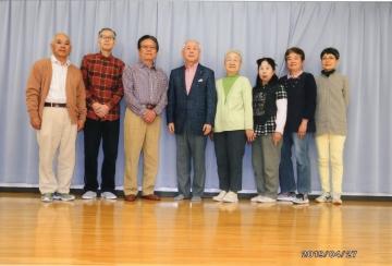 三島支部吹き矢研修会